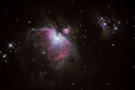 messier: M42 Orion Nebula situated in the Milky Way about 1300 light years from Earth