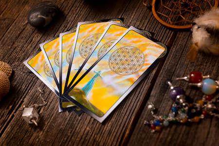 Tarot kaarten en toebehoren andere waarzegster's