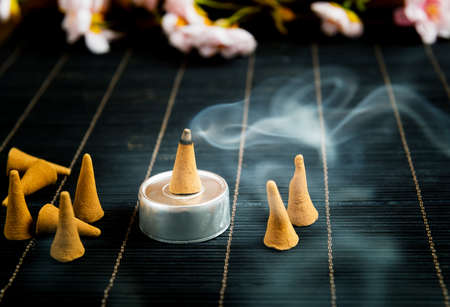 Traditional natural incense cones