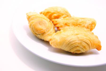 Chicken Curry Puff Pastry photo