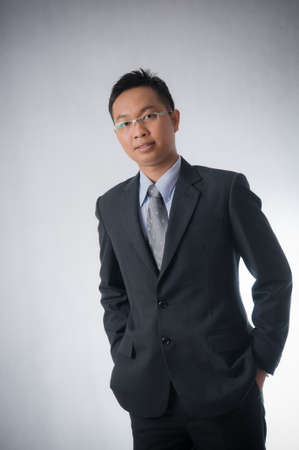 Asian businessman photo