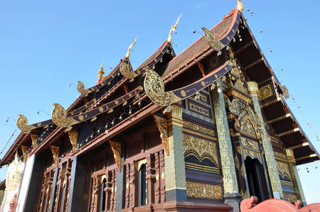 believes: Thai temple in the North, Lanna
