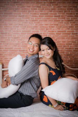 prewedding: Asian couple