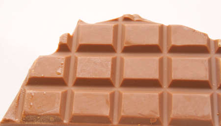 Chocolate bar isolated photo