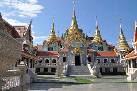 obudził: Temple in Prachuap Khiri Khan, thailand