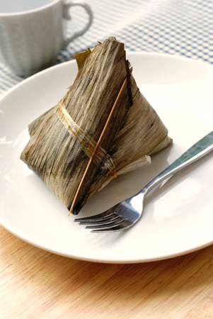 rice dumpling, Chinese tamale photo