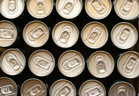 top view of can photo