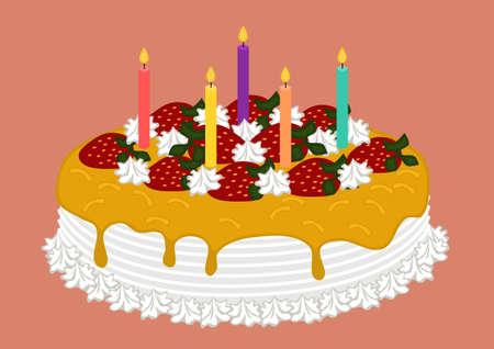 marmalade: Buon Compleanno Marmalade Cake