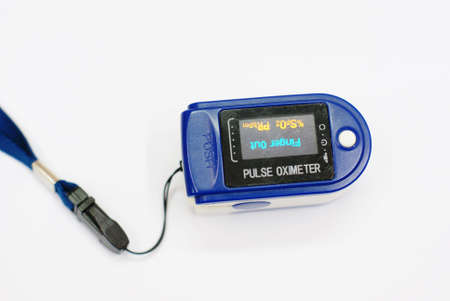 oxygen pulse meter, medical equipment photo