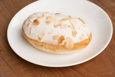 white chocolate almond bread photo