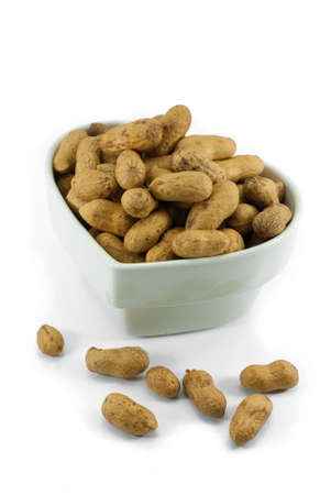 groundnut: Peanut dry fruit or groundnut  Arachis hypogaea  beans