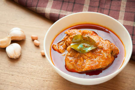 chicken mussaman curry Stock Photo - 25728520