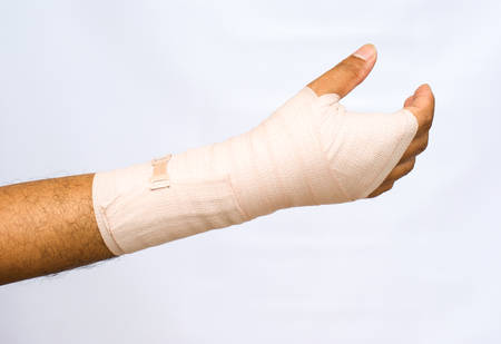 Bandage Medical concept
