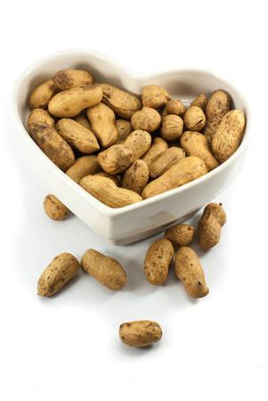 pygmy nuts: Peanut dry fruit or groundnut  Arachis hypogaea  beans