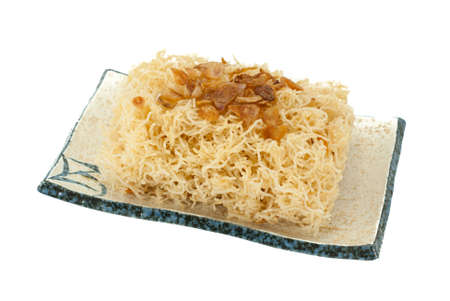 Sweet crispy noodles photo