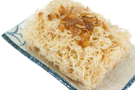 sev: Sweet crispy noodles
