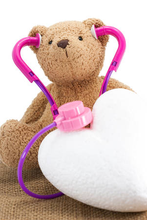 Toy Stethoscope with doll photo