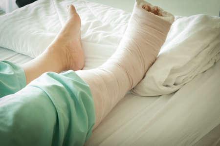 insurance themes: Broken Leg