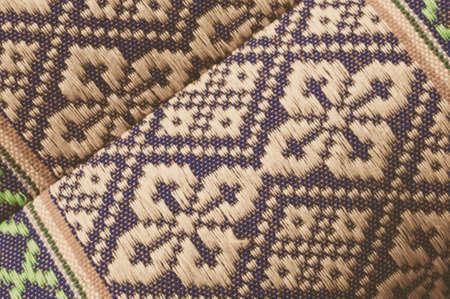 thai silk: Thai Silk Fabric Pattern