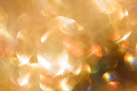 Multicolored defocused bokeh lights background photo