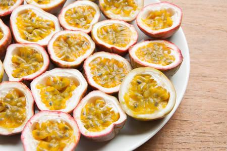 grenadilla: Passion Fruit Stock Photo