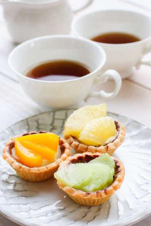 tea garden: Afternoon tea with cake