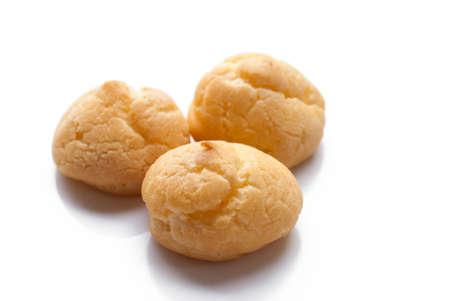 creampuff: Fresh Mini Cream Puffs Close Up