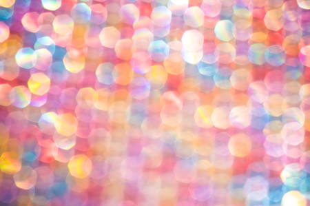 Vintage style abstract blur bokeh light. Defocused background. photo
