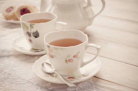 comida inglesa: té de la tarde con el merengue