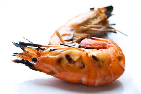 king size: Grilled king size prawns