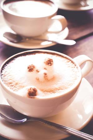 Attar: coffee, latte art