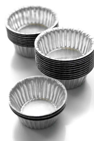 cup for bakery cake Stock Photo