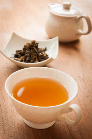 tea cup full of tea Stok Fotoğraf