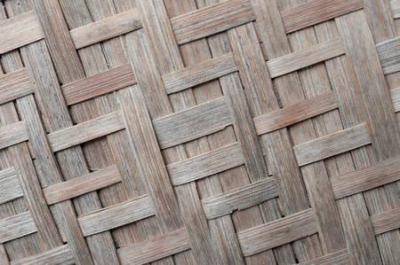 自然な木の風合い、竹マット