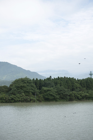 guyan: river Stock Photo