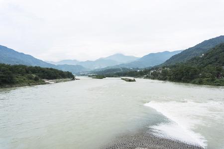 guyan: Dujiangyan, Chengdu, Sichuan, China