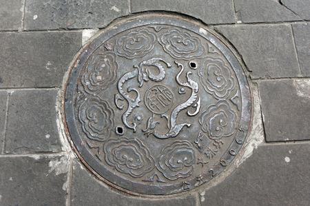 manhole cover: Chinese style manhole cover