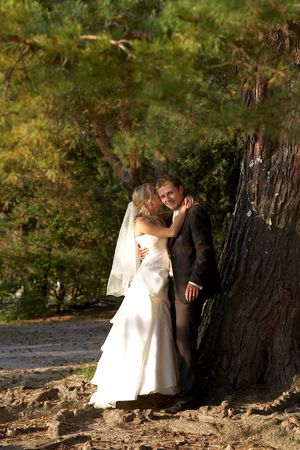ness river: after wedding in outdoor
