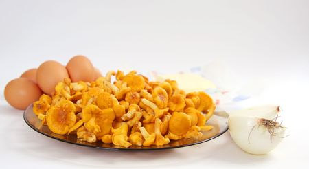 chanterelle: Chanterelle and eggs