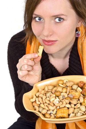 zelf doen: Help jezelf noten, snacks, chips