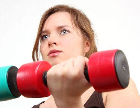 woman id exercising photo