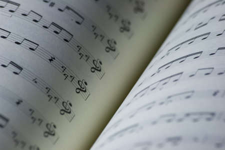 maestro: An open music book with traditional eastern songs