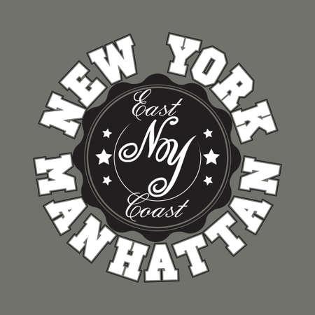 bronx: New York City Typography Graphics, Manhattan T-shirt Printing Design, NYC original wear, Print for sportswear apparel