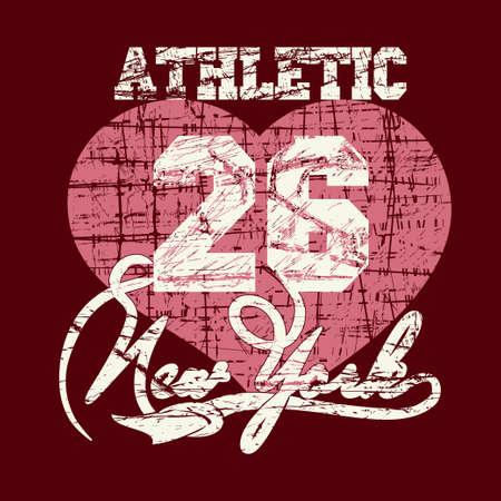 bronx: New York City Typography Graphics, girls T-shirt grunge Printing Design NYC original wear, Vintage Print for sportswear apparel