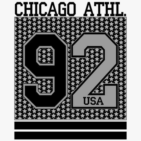 chicago: Sport Fashion Typography Graphics.