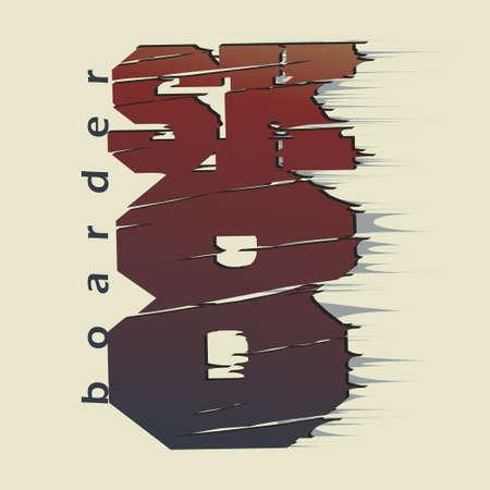 skate board: Skateboarding t-shirt graphic design. Skate Board typography, sportswear emblem. vector