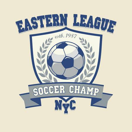 graphics design: Soccer Football Logo, Sport Cup Design, Team emblem, Tournament Badge