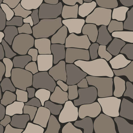 patten: Stone wall seamless texture, stonewall background, brick wall nature patten Illustration