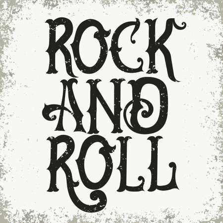 heavy: Rock music print, graphic design with grunge effect, rock-music tee print stamp design. t-shirt print lettering artwork
