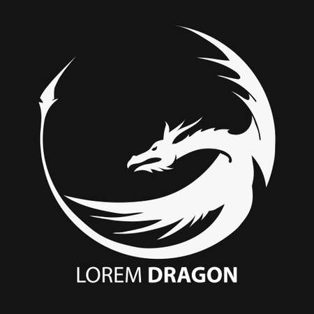 speculative: dragon vector silhouette